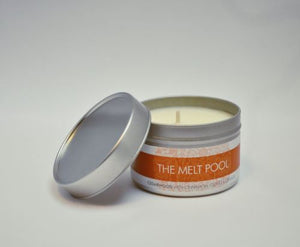 MELT POOL SOY WAX TRAVEL TIN CANDLE - CHOICE OF FRAGRANCE