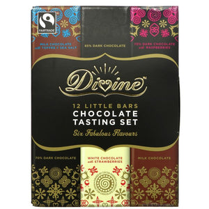 DIVINE FAIR TRADE CHOCOLATE TASTING SET