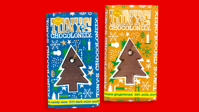 TONY'S CHOCOLONELY CHRISTMAS LIMITED EDITION BARS