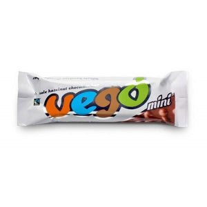 VEGO WHOLE HAZELNUT CHOCOLATE BAR MINI 65G - VEGAN FAIR TRADE