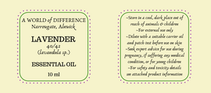 A WORLD OF DIFFERENCE ESSENTIAL OILS - 10ml