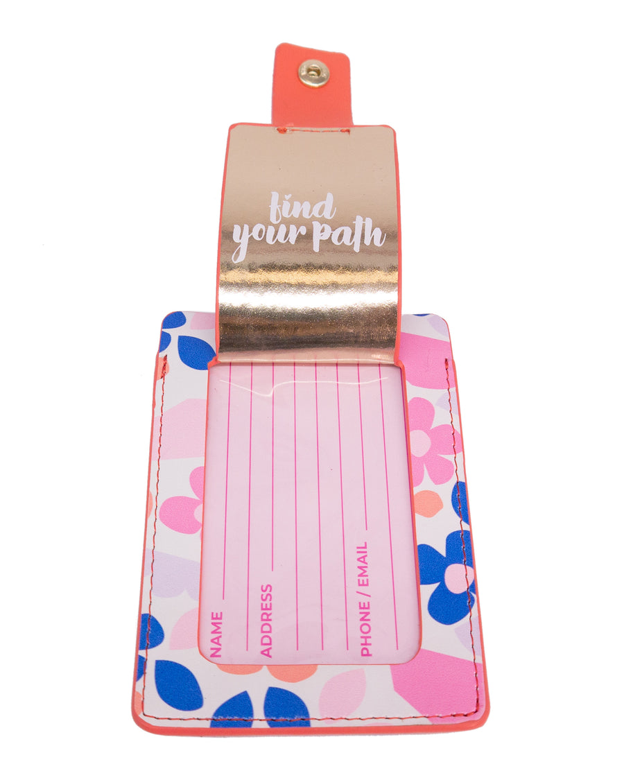 Luggage Tag - Paper Flowers - Bewaltz