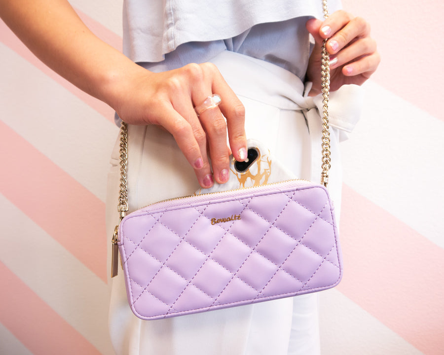Quilted Wallet Crossbody - Bewaltz