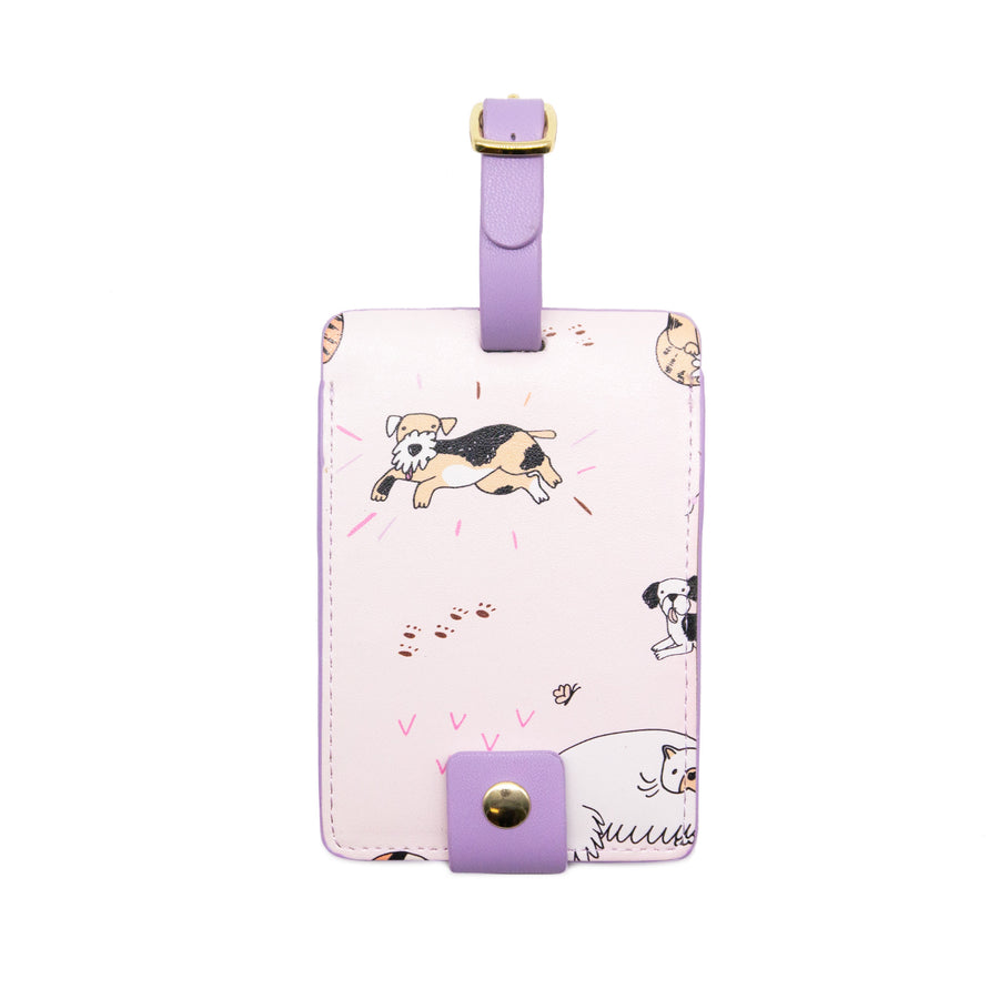 Luggage Tag - Cats & Dogs - Bewaltz