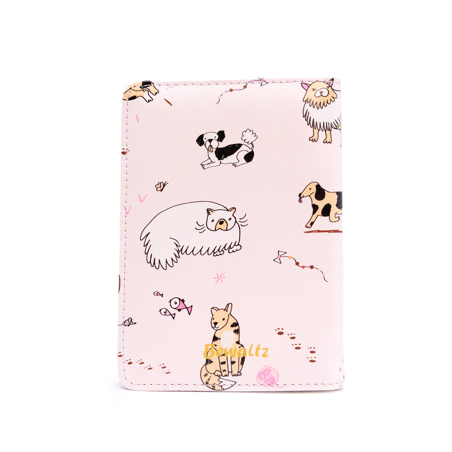 Passport Holder - Cats & Dogs - Bewaltz