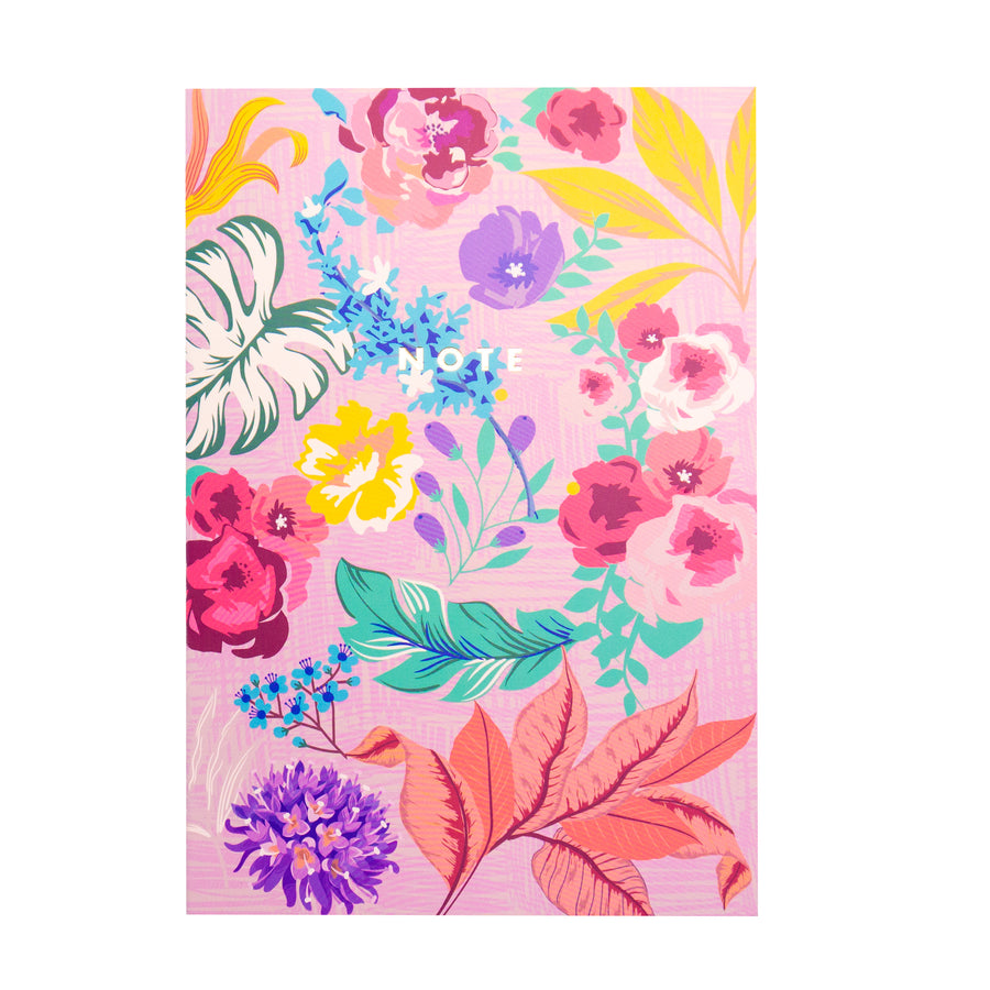 Tropical Florals Softcover Notebooks - Bewaltz