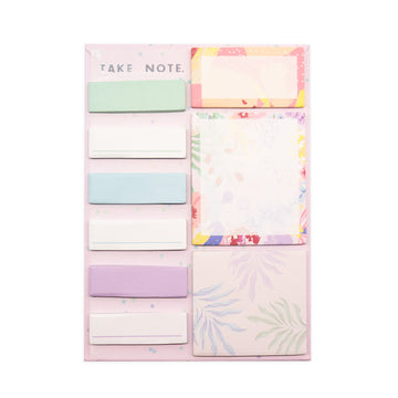 Tropical Florals Sticky Note Set - Bewaltz
