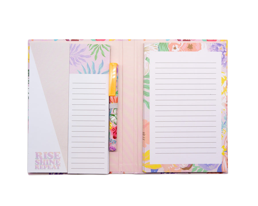 Tropical Florals Notepad & Pen - Bewaltz