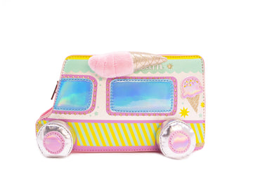 Let's Scream for Ice Cream Truck Handbag - Bewaltz