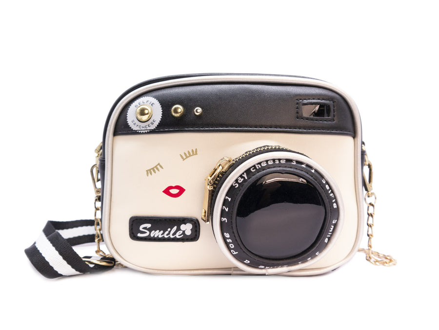 Flashy Camera Handbag - Bewaltz