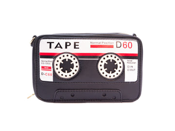 Play a Tune Cassette Tape Handbag - Bewaltz