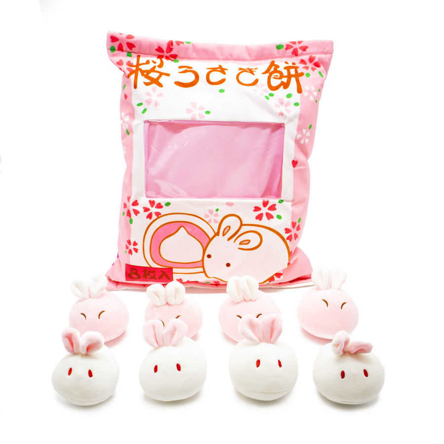 Mini Plushies - Cherry Blossom Bunnies