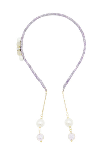 Earring Headband - Light Grey