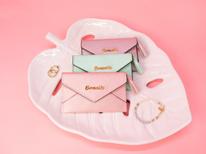 Pastel Charlotte Card Holders