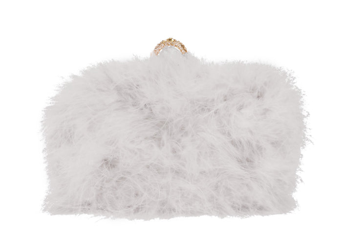 Furry Clutch - Gray - Bewaltz
