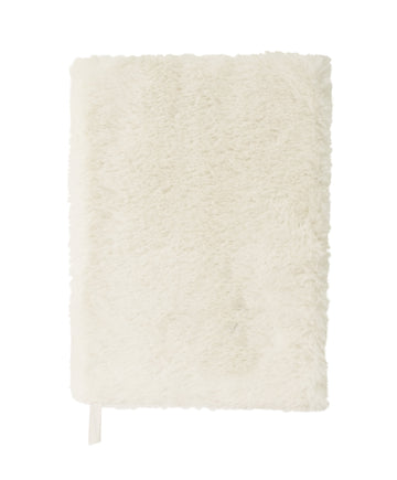Furry Notebook - White - Bewaltz