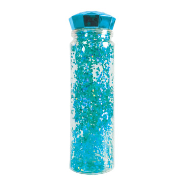 Glitter Water Bottle - Blue - Bewaltz