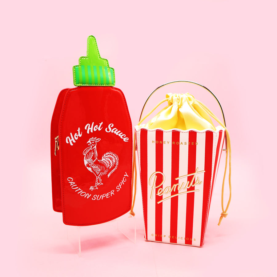 Hot Hot Red Rooster Sauce Handbag