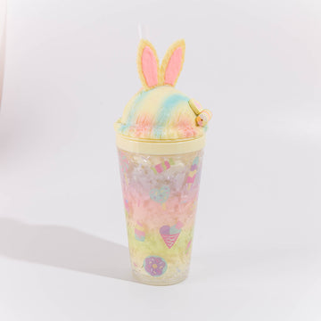 Sweets Rainbow Bunny Tumbler - Yellow - Bewaltz