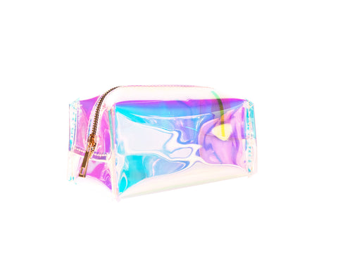 Holographic Jelly Make-up Bag