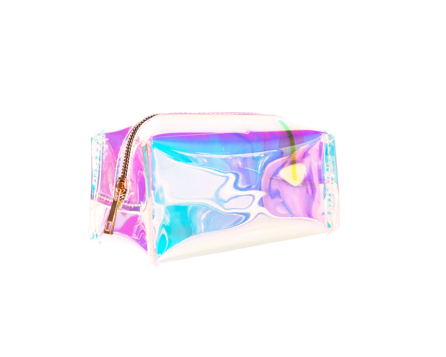 Holographic Jelly Makeup Bag Large - Bewaltz