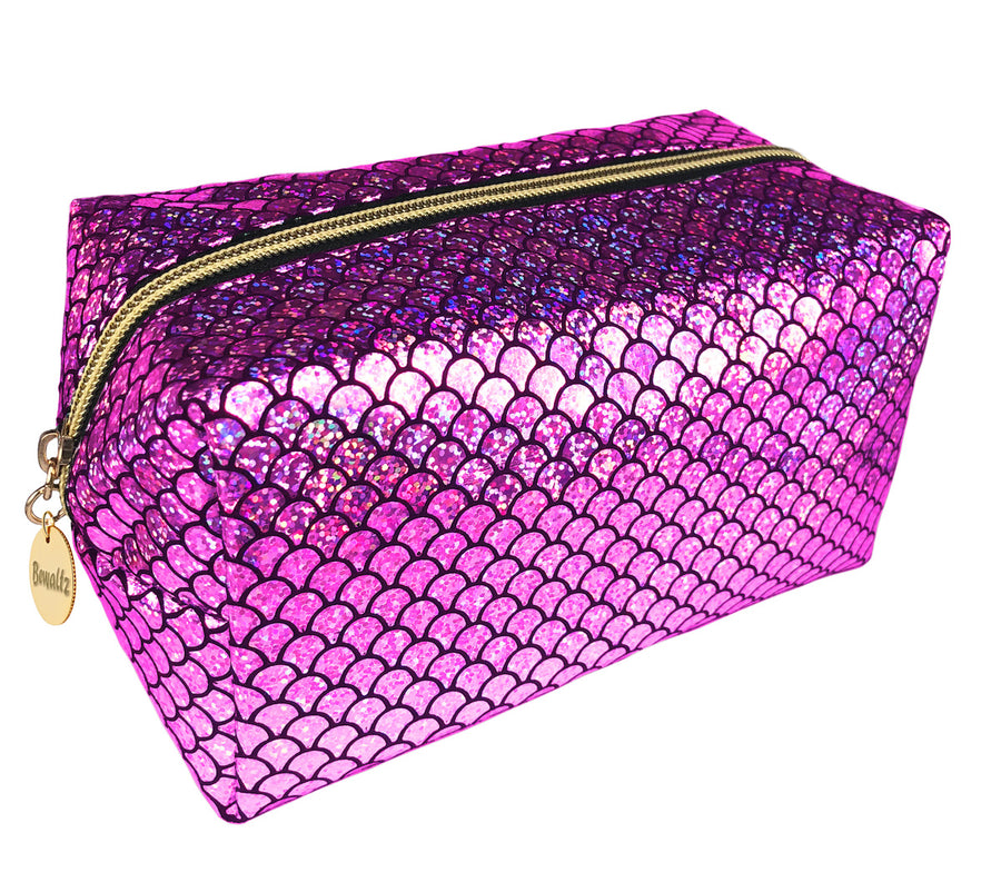 Mermaid Makeup Bag Pink - Bewaltz