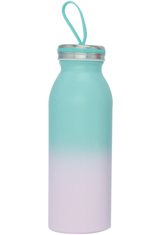 Stainless Steel Milk Bottle - Mint - Bewaltz
