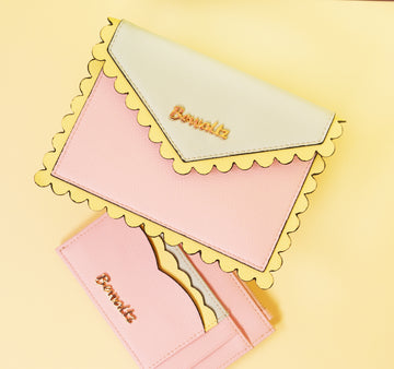 Ella Scallop Envelope Wallets - Bewaltz