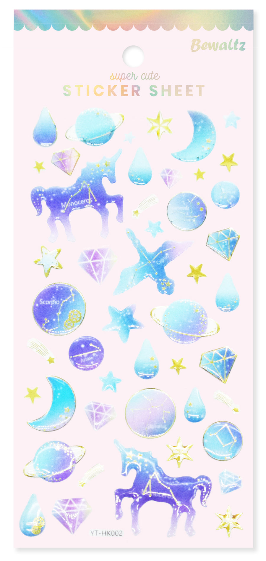 Sticker Sheet - Space #3 - Bewaltz