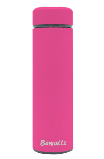 Stainless Steel Tumbler - Hot Pink - Bewaltz