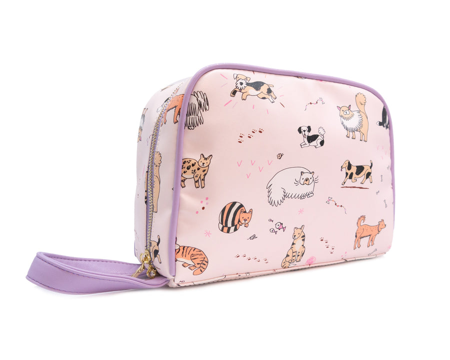 Toiletry Bag - Cats & Dogs - Bewaltz