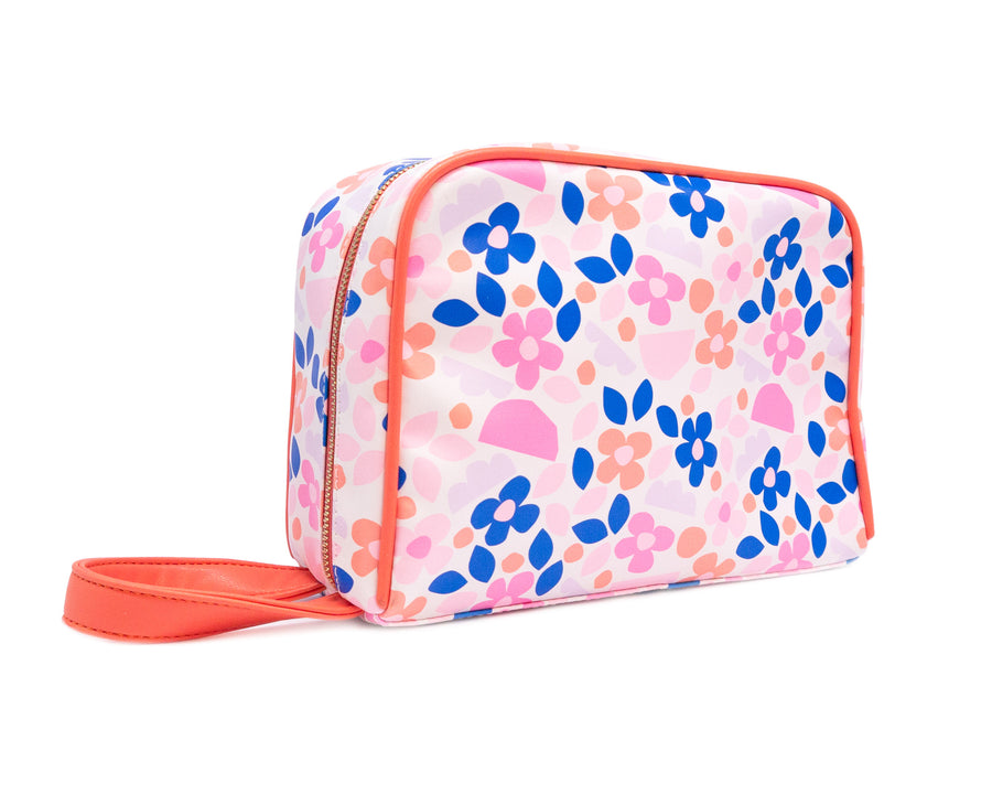 Toiletry Bag - Paper Flowers - Bewaltz