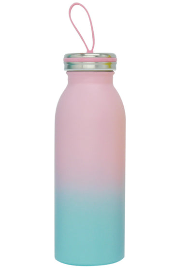 Stainless Steel Milk Bottle - Pink - Bewaltz