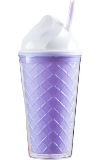 Ice Cream Tumbler - Purple Cone - Bewaltz