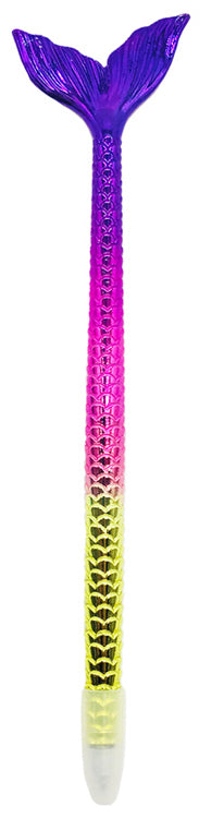 Mermaid Tail Pen - Purple - Bewaltz