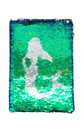 Sequin Mermaid Notebook - Bewaltz
