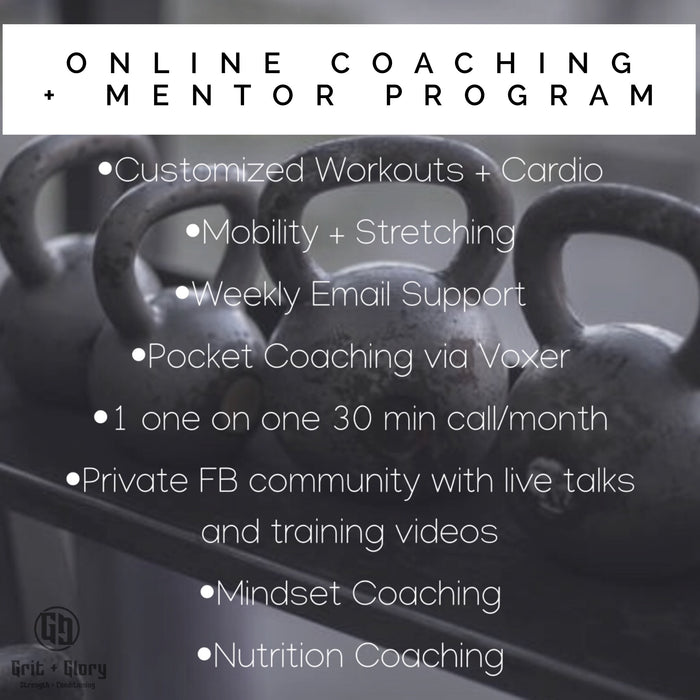 Online One on One Coaching