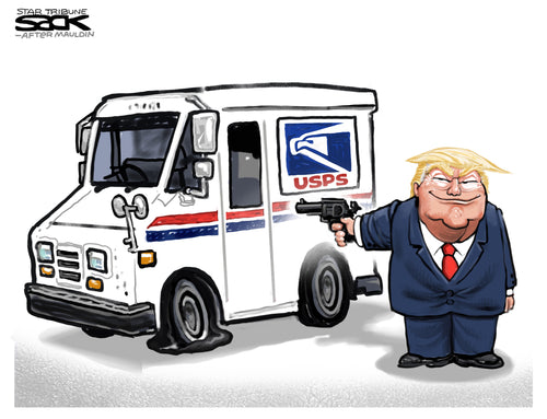 PETITION: Stop Trump's Undermining of the US Postal Service to Rig the Election