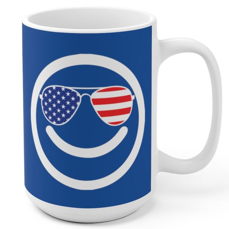 Cool Happy Democrat - Mug