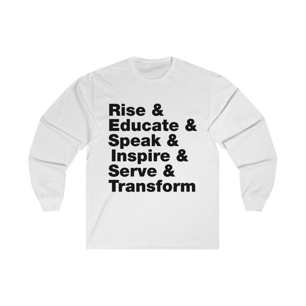 RESIST & - Long Sleeve Tee