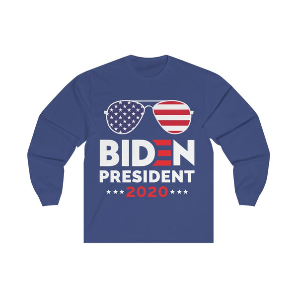 Cool Biden for President - Long Sleeve Tee
