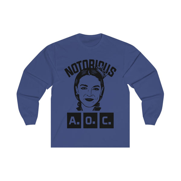 NOTORIOUS AOC - Long Sleeve Tee