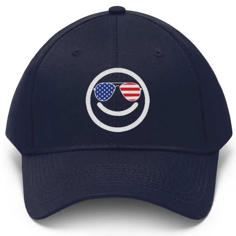 Cool Happy Democrat Cap from Balance of Power