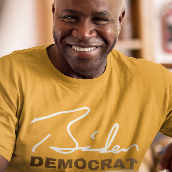 Biden Democrat People of Color Signature Collection - Shirt from Balance of Power