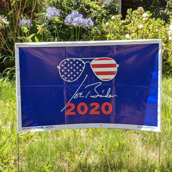 Cool Joe Biden Signature Yard Sign