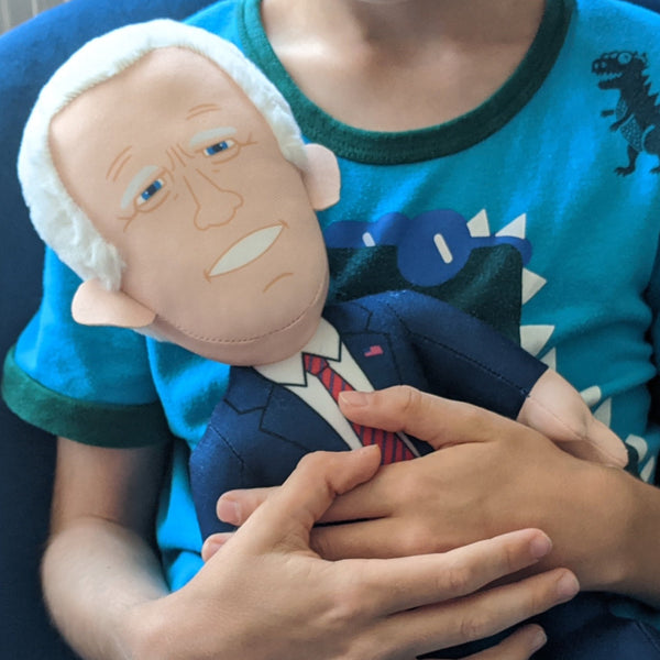 The Officially Unofficial Joseph R. Biden Jr. Plush Toy