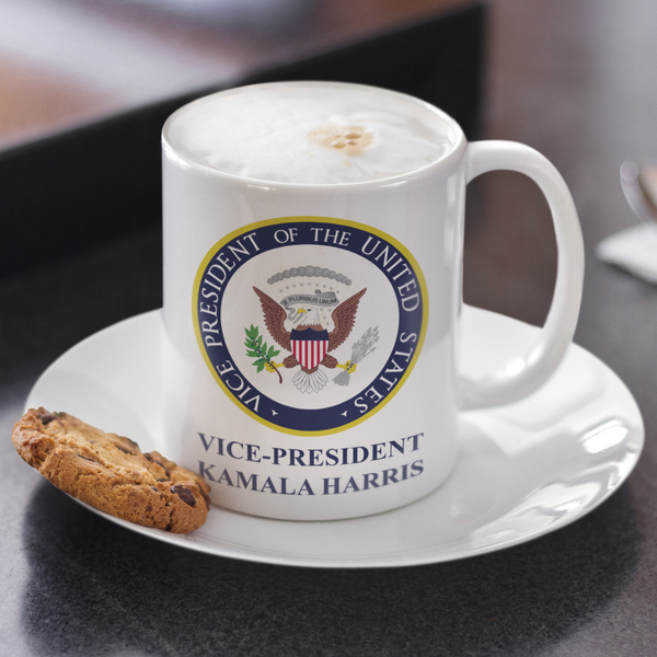 Official Seals of President Joe Biden and Vice President Kamala Harris - Mug