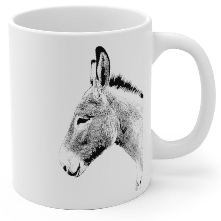 Smiling Democratic Donkey - Mug