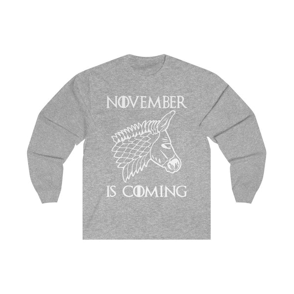 November is Coming - Long Sleeve Tee