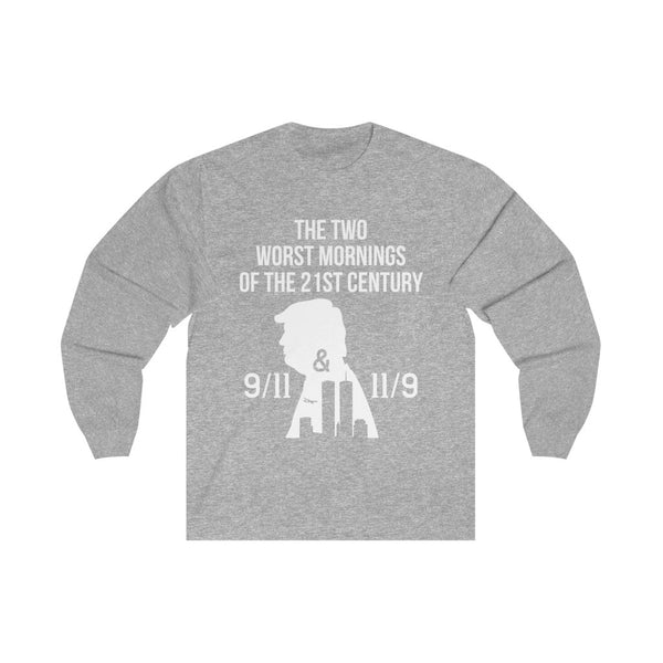 Two Worst Mornings in America - Long Sleeve Tee